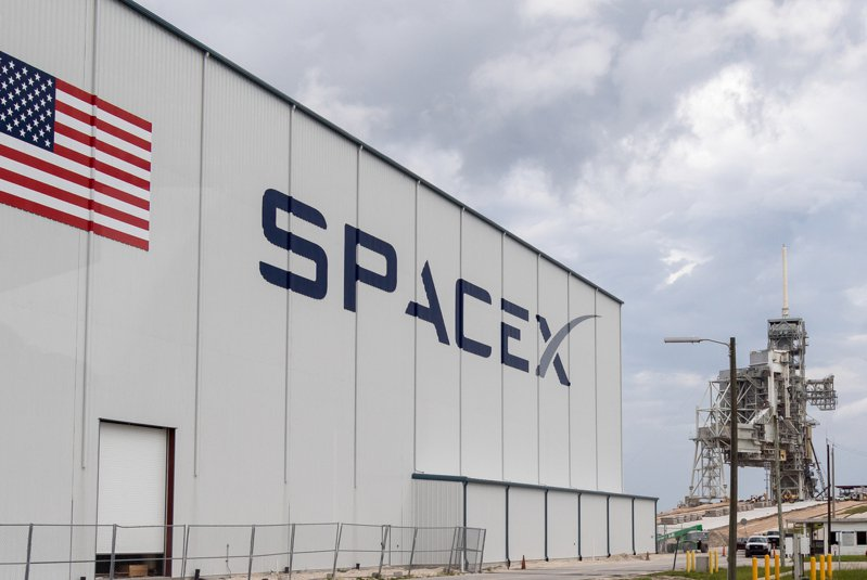 spaceX。圖片來源:Shutterstock
