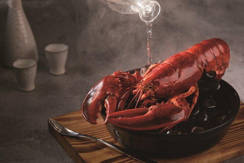 酒蒸波士頓龍蝦。 圖片提供/藝奇