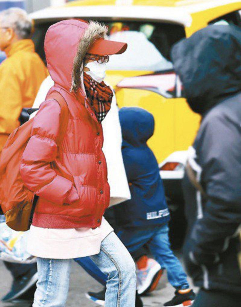 下周將迎來入冬最強冷空氣。聯合報系資料照