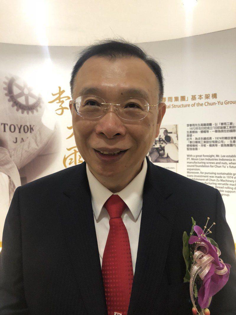 台灣鋼鐵集團會長謝裕民實力雄厚。圖/聯合報系系資料照片