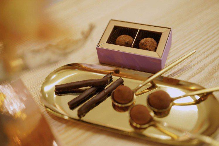 Qsweet世界金牌巧克力也限時進駐。圖/LA PLACE 提供