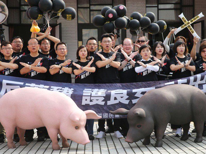本周原本應該是最熱的萊豬表決大戰,被淹沒在疫情新聞中。 圖/聯合報系資料照片