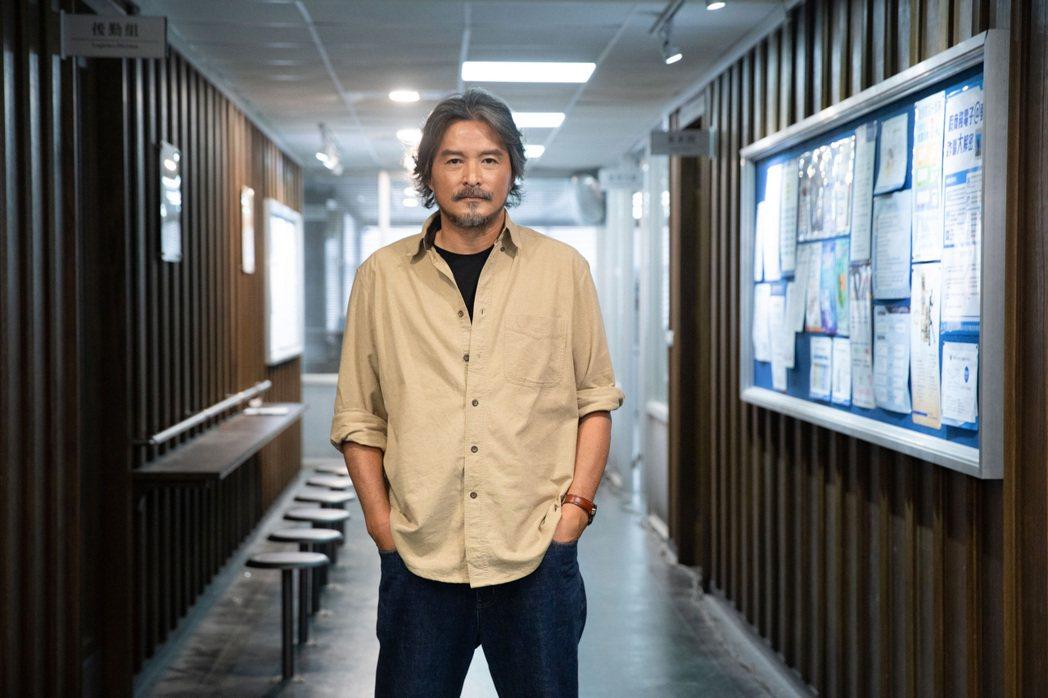 李銘順來台拍攝「逆局」。圖/愛奇藝國際站提供