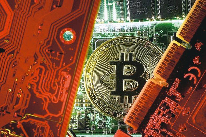 比特幣帶動全球競相推出加密貨幣,也為台積電注入可觀的營收。美聯社