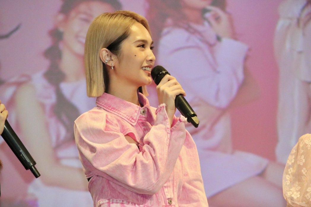 楊丞琳自詡「PINK FUN」的媽咪,對女兒們成就感到驕傲。圖/野火娛樂提供