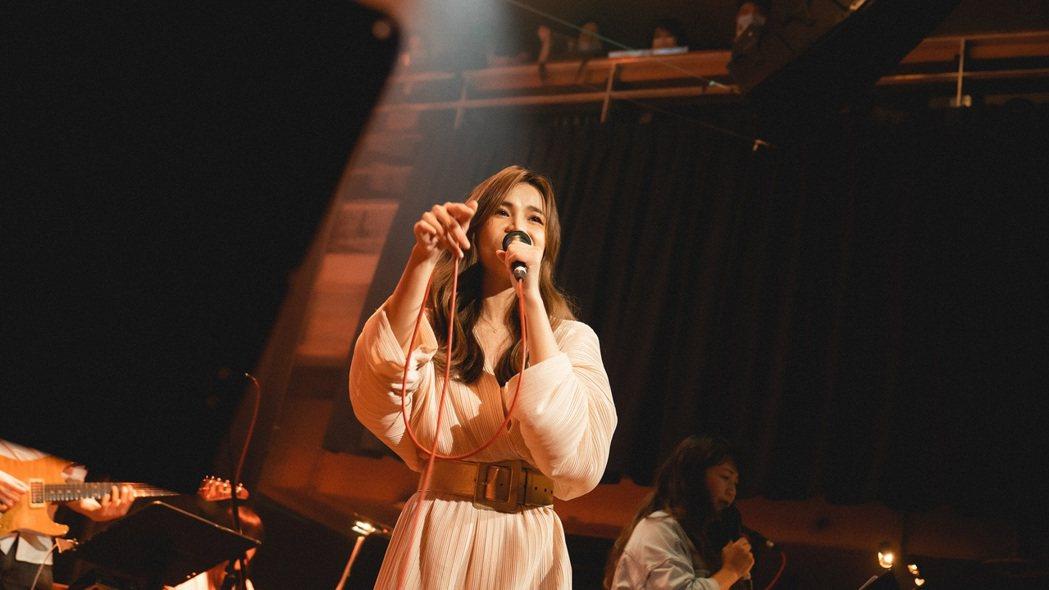 林芯儀出道16年,日前首度舉辦個人音樂會。圖/解碼音樂提供