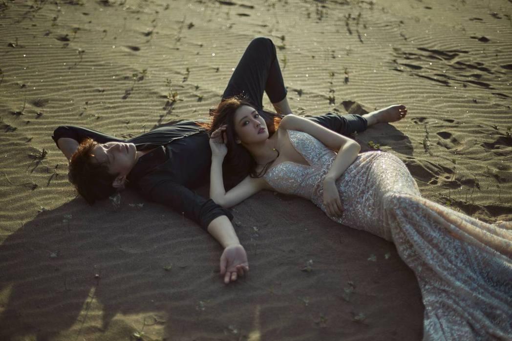 賴琳恩與陳乃榮甜蜜浪漫。圖/擷自臉書