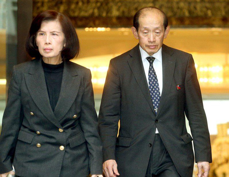 林郭文艷(左)、林蔚山(右)。圖/聯合報系資料照片