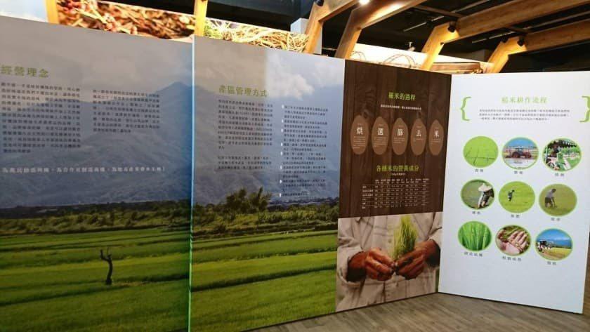 龔先生的龍鳳甲農產中心儼然已經是玉里鎮農產的佈展中心了