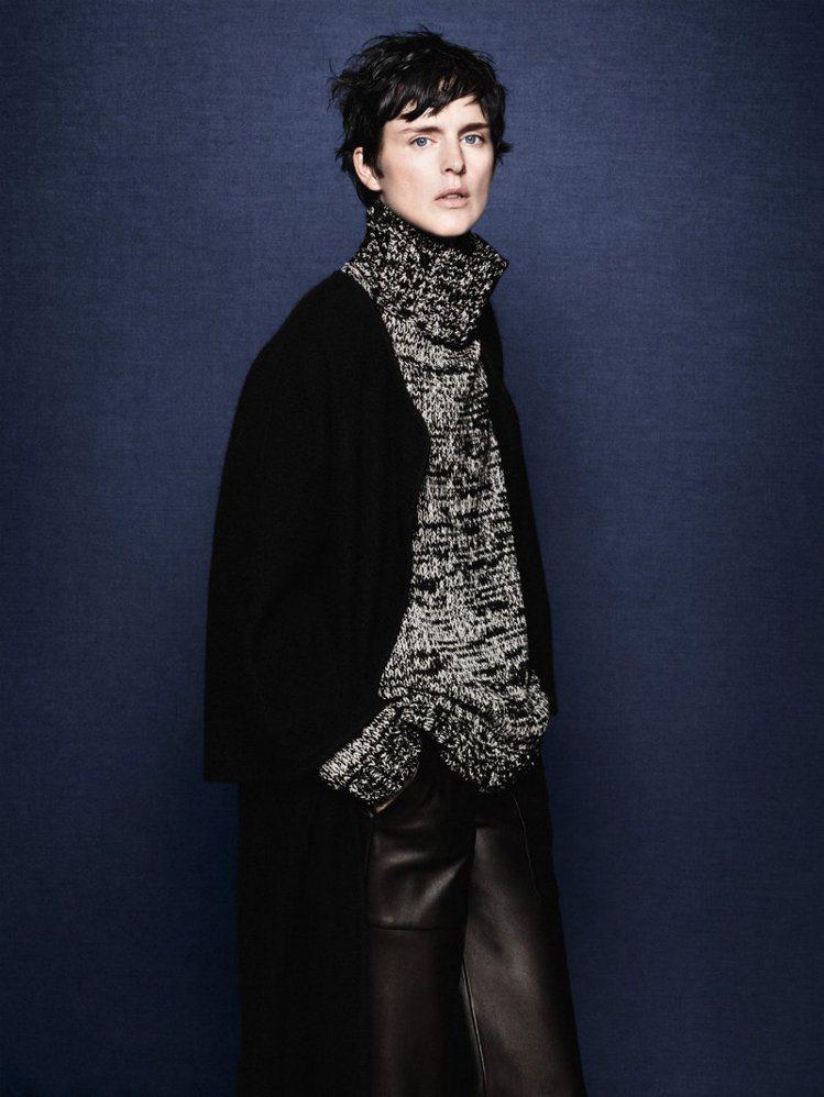 近年來Stella Tennant也曾拍過Zara廣告。圖/Zara提供
