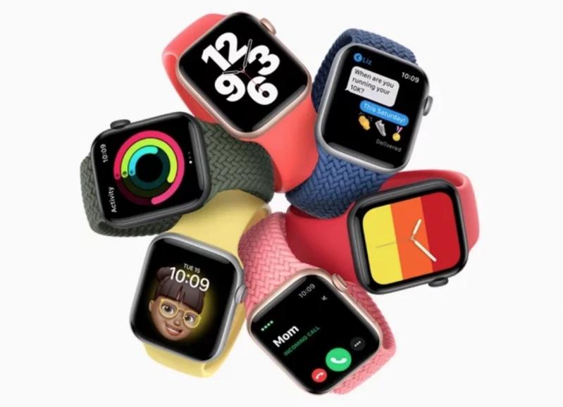 Apple Watch S6最大亮點就是新增測量用戶血液中氧飽和度的新功能。圖/取自蘋果官網