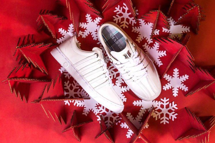 球后大威廉絲的個人品牌與K-SWISS合作,推出包含鞋款、休閒服的迷你系列。圖/...