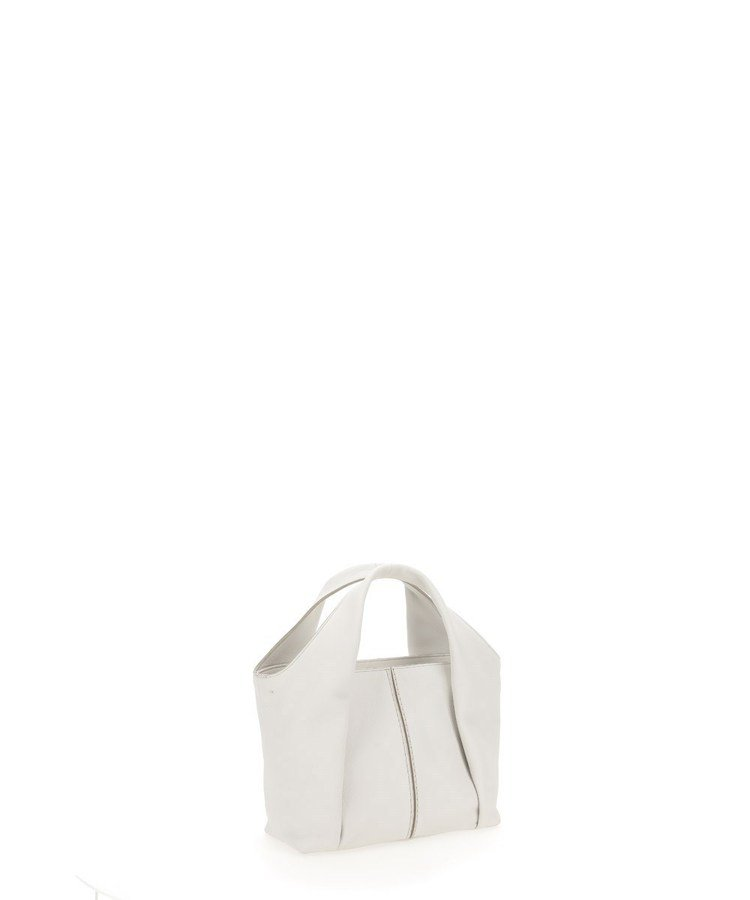 TOD'S Shirt Bag乳白色托特肩背包,54,500元。圖/迪生提供