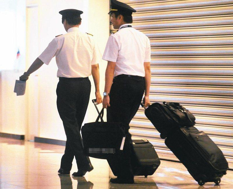 案567紐籍機師遭桃園市衛生局重罰30萬,罰單今天寄出。圖為示意圖、非新聞當事人。圖/聯合報系資料照片