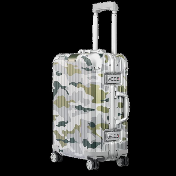 RIMOWA Original Camouflage綠色迷彩登機箱48,600元...