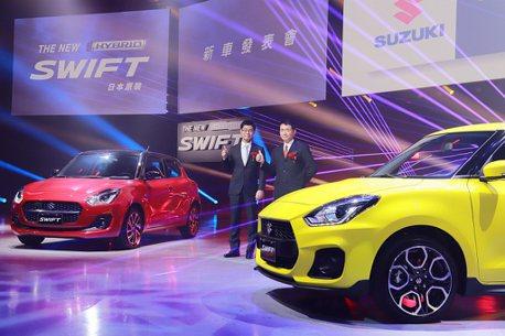80萬油電手排鋼炮!小改款Suzuki Swift、Swift Sport正式登台