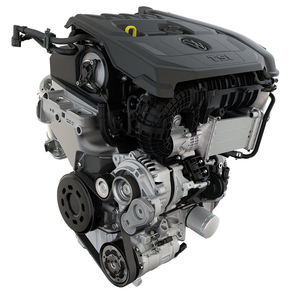 EA211 evo系列引擎採用多項獨家先進技術,如高壓縮比燃燒過程可提升整體燃燒...