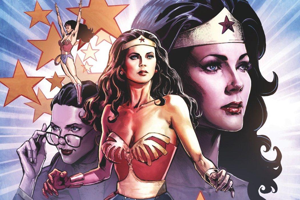 以第一位《神力女超人》電視劇版演員琳達卡特(Lynda Carter)為原型的漫...
