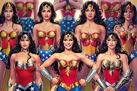 「我相信『神力女超人』將是新女性楷模....難道這是一場美麗的誤會?」在戰後的美...