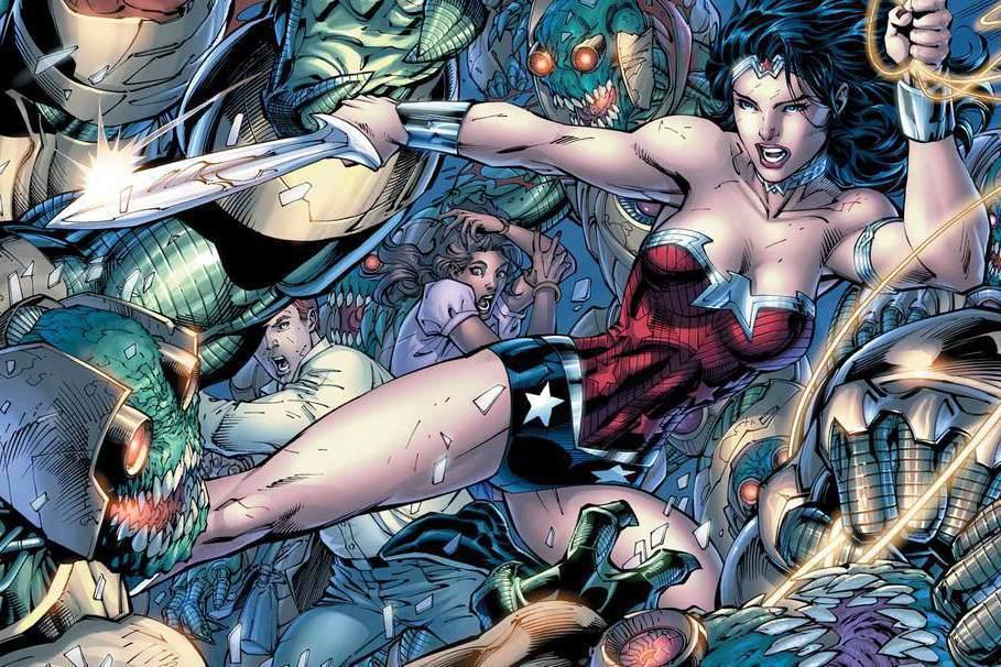 《神力女超人》最初是威廉.馬斯頓創作的漫畫。 圖/取自DC Comics