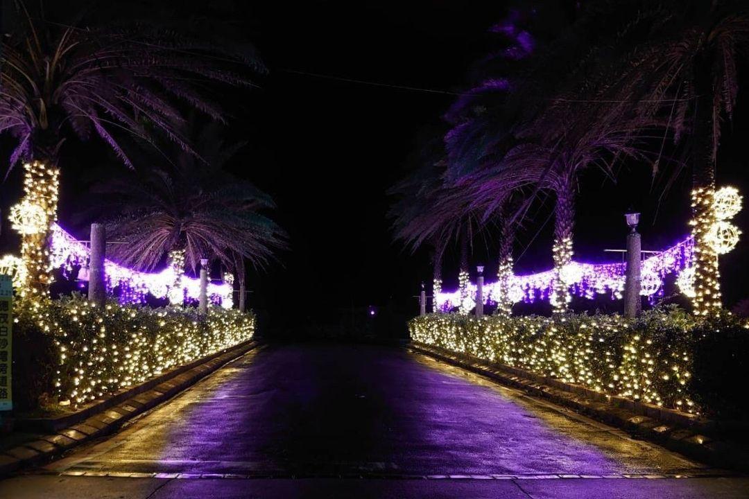 今年北海岸遊憩據點光環境以「戀戀冬季,放閃北海岸」為主題。 圖/交通部北觀處提供
