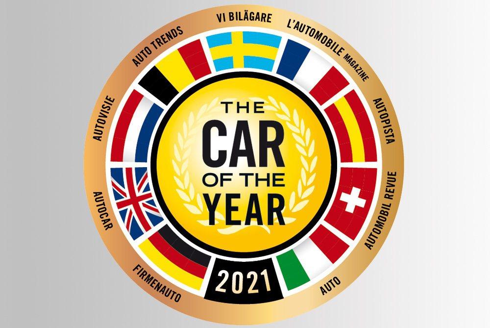 2021歐洲年度風雲車大獎進入最終評選名單的七款新車公布。 摘自Car of t...