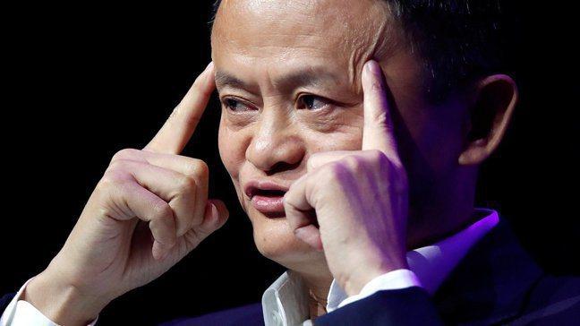彭博引述知情人士報導,截至12月初,官方建議馬雲留在國內。 圖/路透