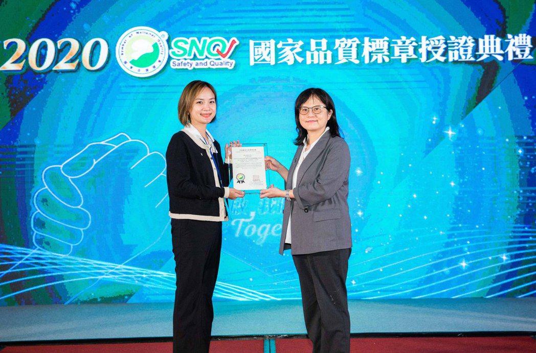 台灣安進藥品拿下SNQ標章認證。台灣安進/提供