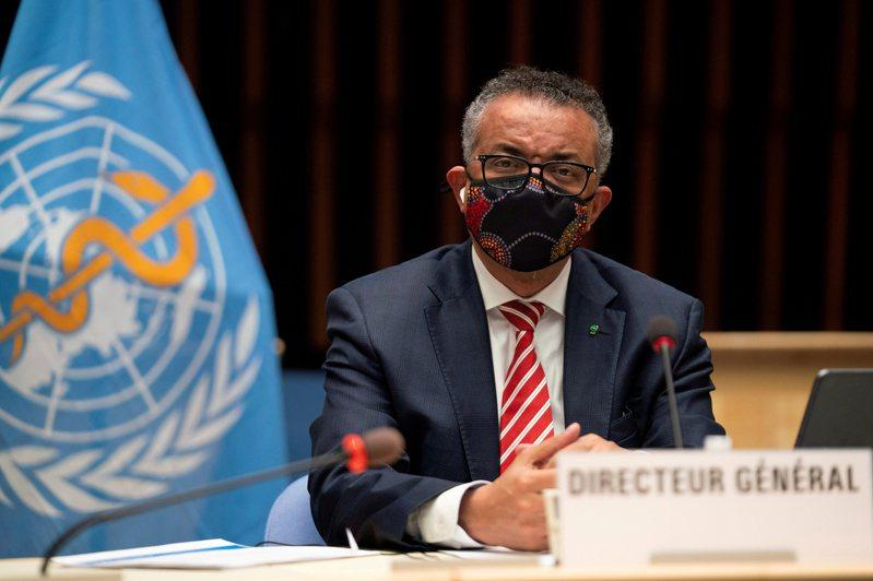 世界衛生組織(WHO)秘書長譚德塞。 路透社