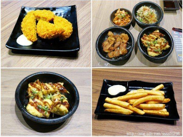 熟食炸物類的黃金炸豆腐、薯條、日式炸雞、咖哩可麗餅被我們一點再點,就是吃不膩。