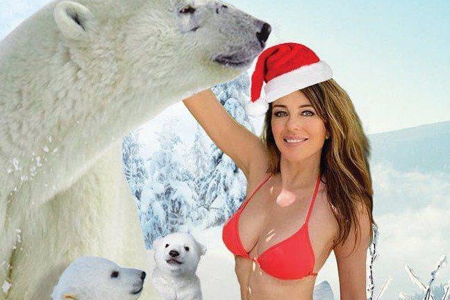 每年聖誕節就有不少名人推出賀節新照:都愛賣弄性感的派瑞絲希爾頓與麥莉,毫不意外化身紅衣豔女,前者僅著內衣入鏡,後者雖然披著聖誕老人的外套,卻上身全裸只以雙手遮住胸前兩點,各有千秋。不過半百美魔女伊莉...