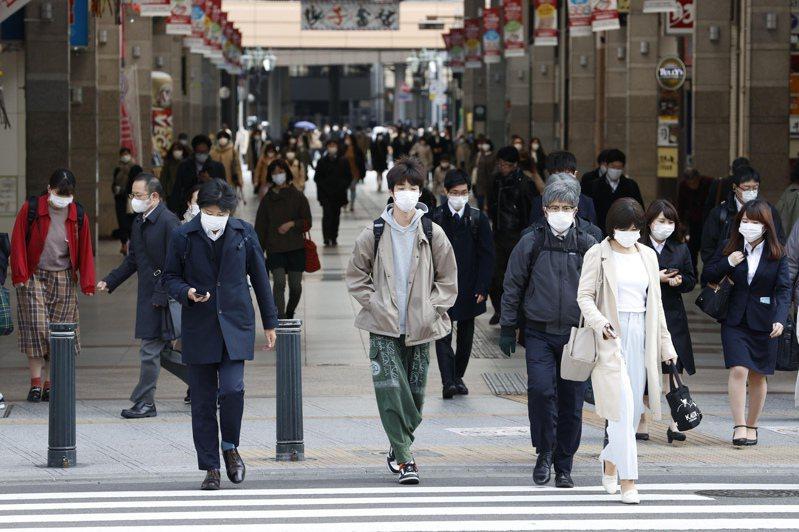 最新数据显示,日本上月零售销售持续下滑,东京物价指数降至十年来最低。美联社(photo:UDN)