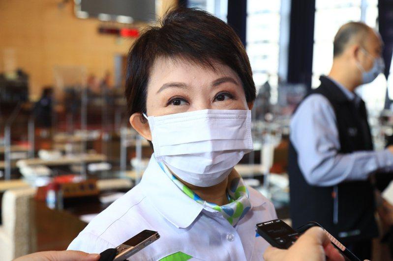 台中市長盧秀燕今受訪表時肯定台中縣市合併,是 資源1加1大於2。記者張明慧/攝影