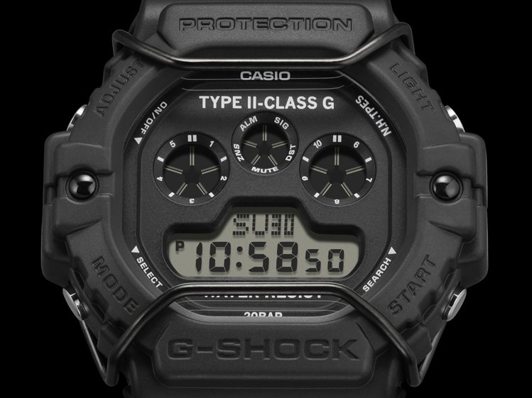 表盤特別印上「TYPE II-CLASS G」字樣,「G」字樣也暗示了雙方第七次...