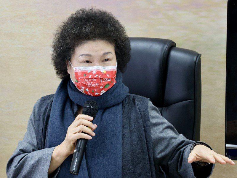 監察院長兼國家人權委員會主委陳菊被問到蘇偉碩赴監院陳情時說,蘇偉碩現在行動自如、發言自由,有什麼立即迫害。記者林伯東/攝影