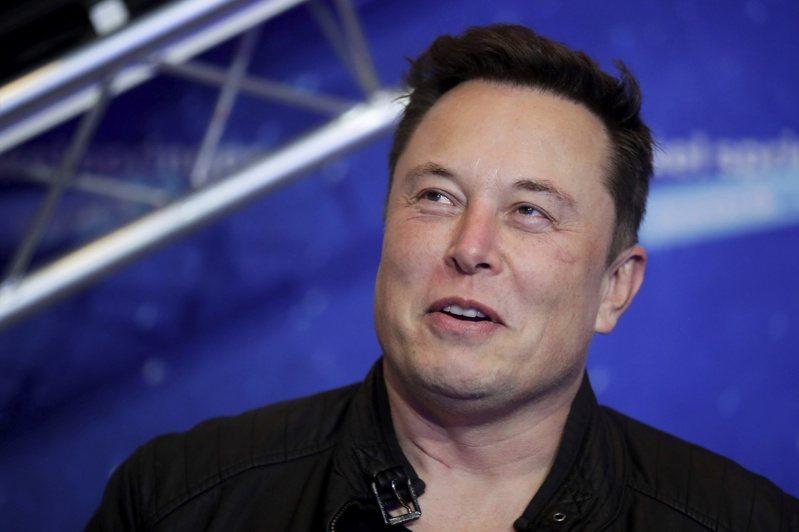 特斯拉(Tesla)执行长马斯克(Elon Musk)。  美联社(photo:UDN)