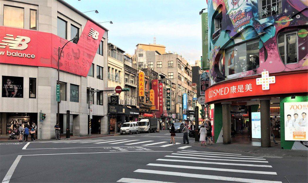 西門町街景 記者游智文/攝影