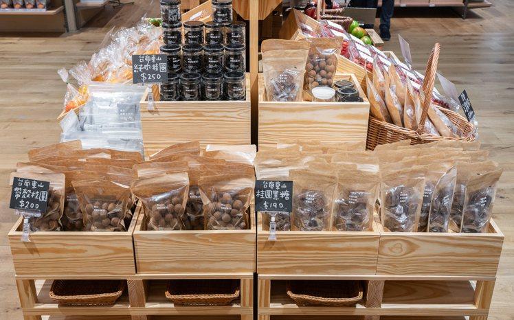 MUJI無印良品的南紡門市,首度導入「聯連市」概念,販售台灣小農直送的蔬果、食品...