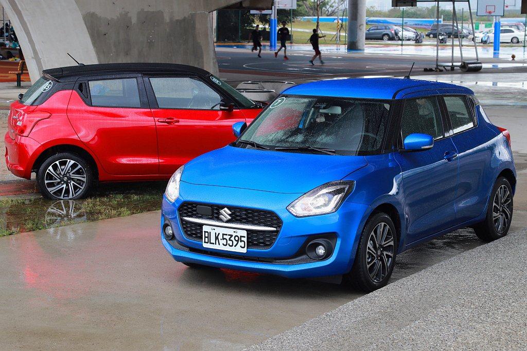 小改款Suzuki Swift車頭在相同輪廓下換裝新式六角水箱護罩之餘,再透過一...