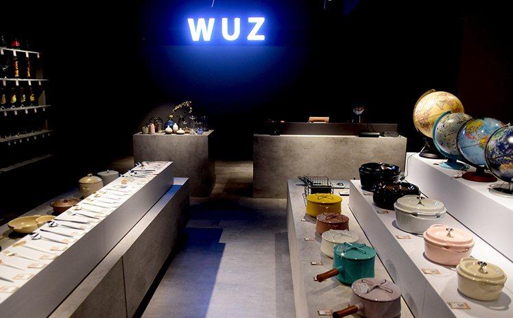 WUZ屋子開設首間實體店鋪。圖/WUZ屋子提供