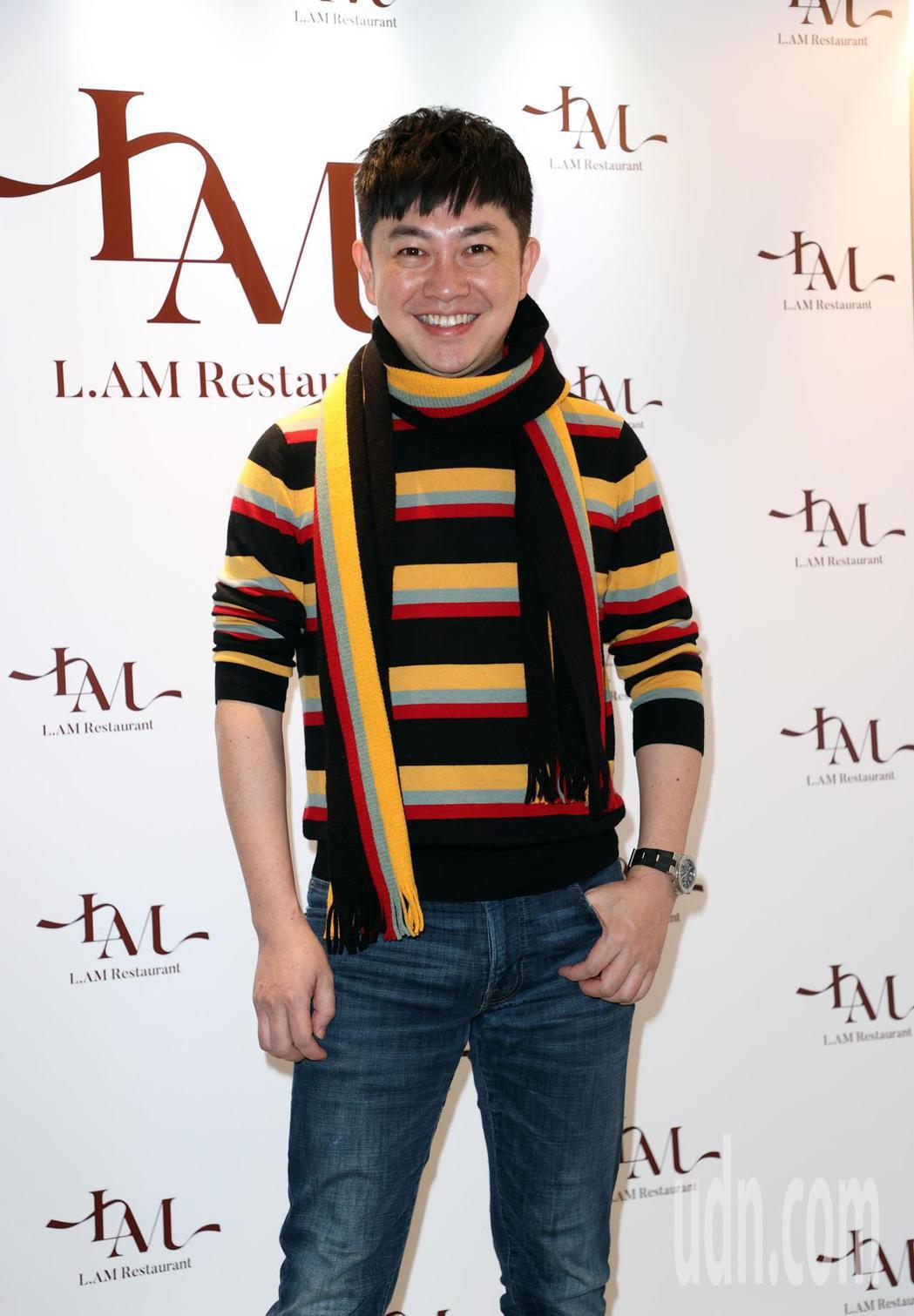 演員余宥樂開餐廳,李明川站台 。記者曾吉松/攝影