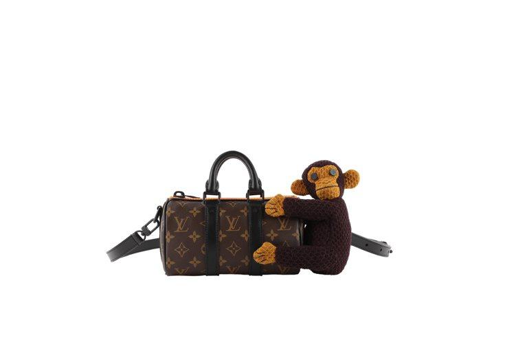 小猴子Keepall Nano手袋,10萬元。圖/LV提供