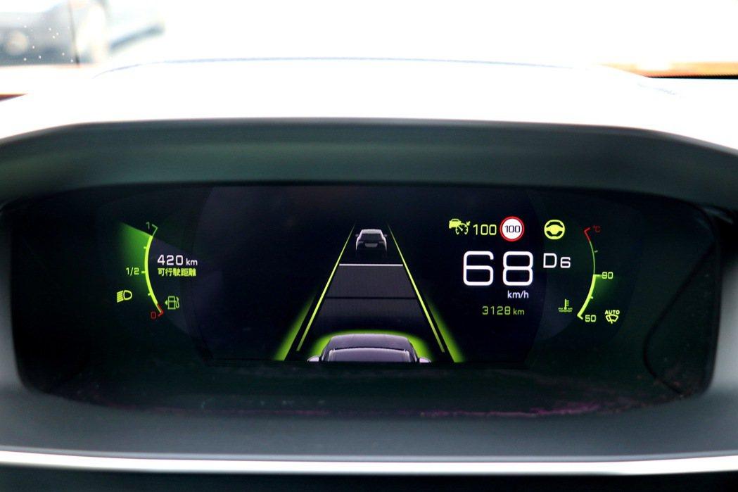 ACC跟車及LPA車道保持所構成的Level 2半自動駕駛,使用起來相當順手且智...
