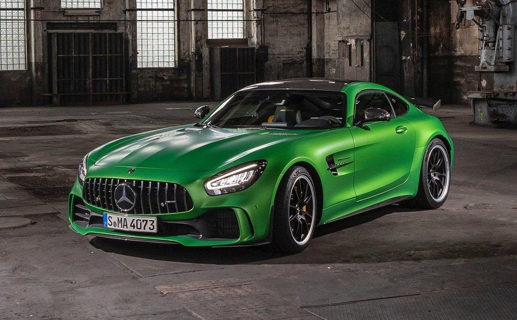 Mercedes-AMG GT R。 圖/Mercedes-AMG提供