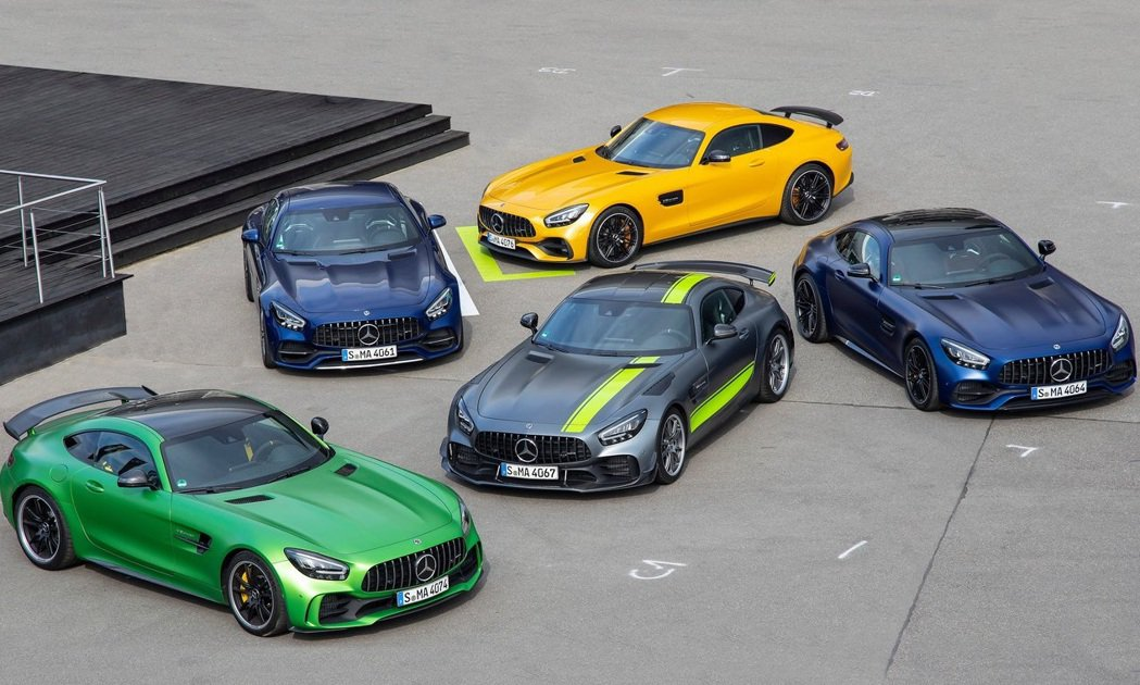Mercedes-AMG GT車系。 圖/Mercedes-AMG提供