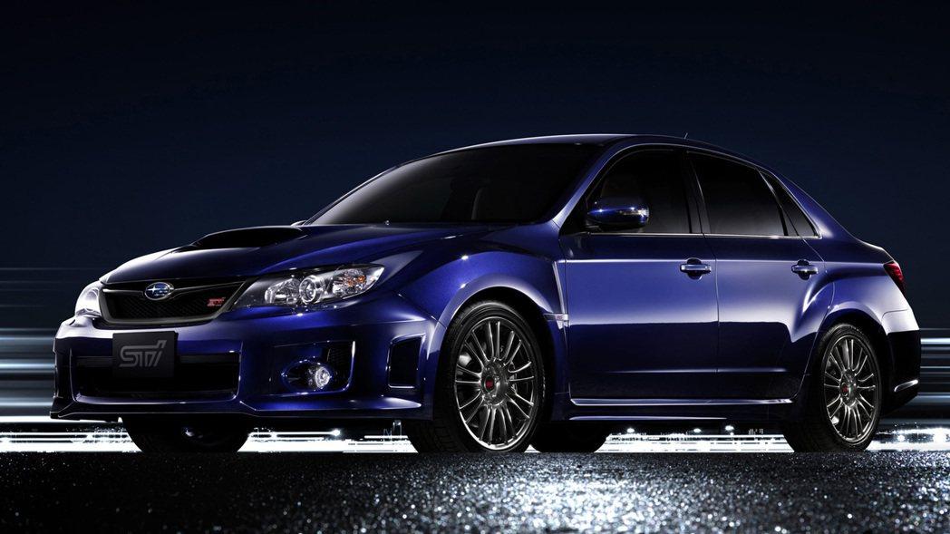 Subaru Impreza WRX STI A-Line。 圖/Subaru提...