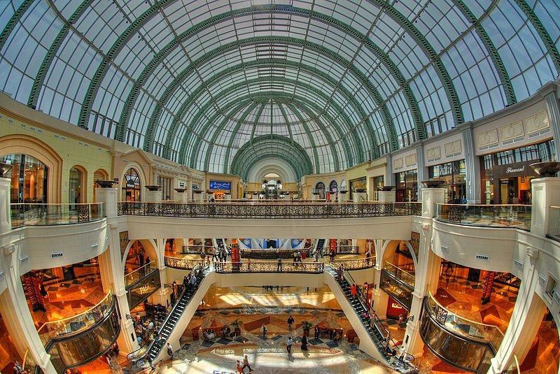 Mall of the Emirates 適合拍出氣場強大的華麗照片 / 來源: wikimedia