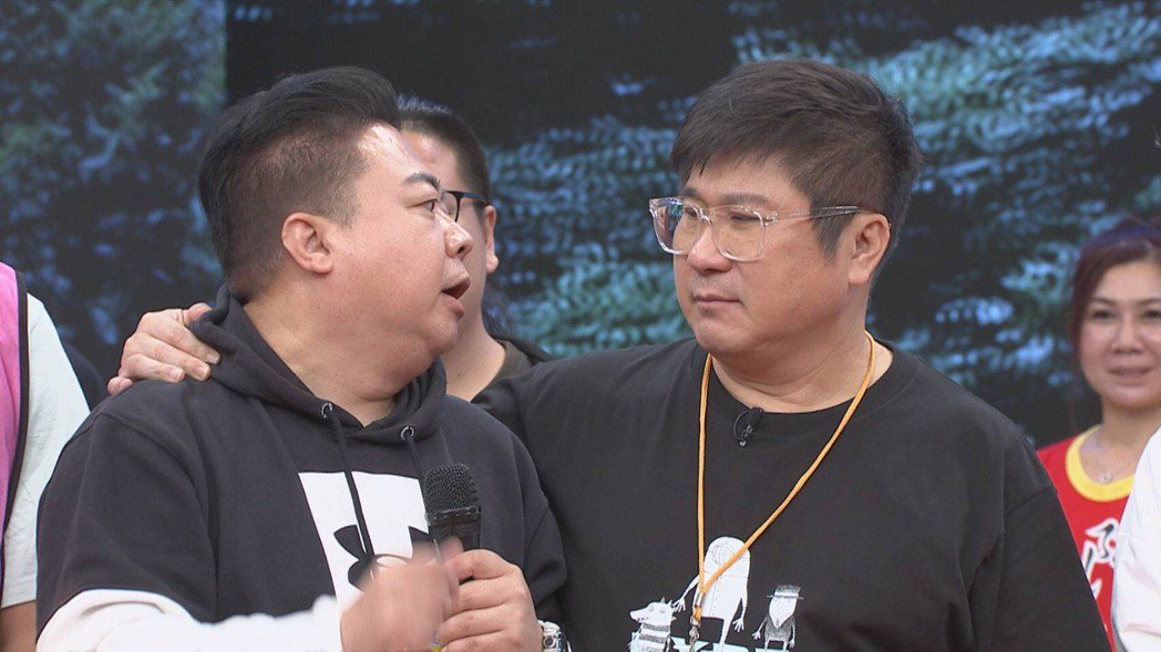 董至成(左)回「綜藝大集合」當來賓。圖/民視提供