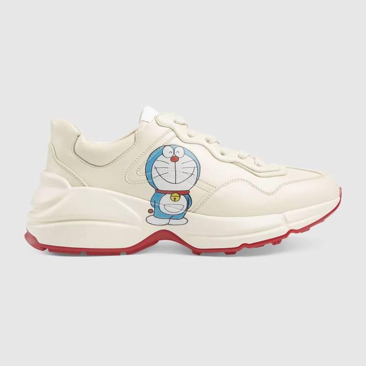 Doraemon X Gucci系列Rhyton運動鞋。圖/摘自官網