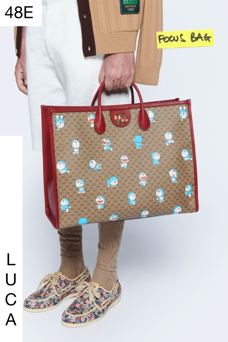 Gucci在今年七月發表了Epilogue終曲系列服飾,一款與「哆啦A夢」聯名的...